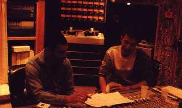 Freddie and John - 1986 in studio