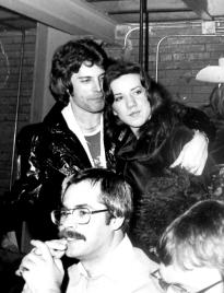Freddie with fan - 1977