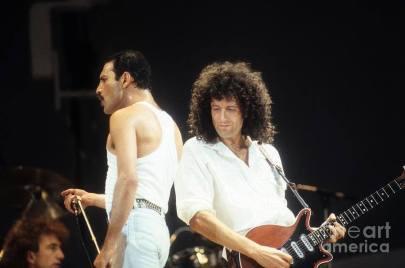 Live Aid - Freddie and Brian