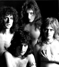 Queen photo session from 1974