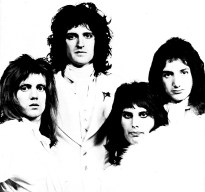 1974 photo session Queen