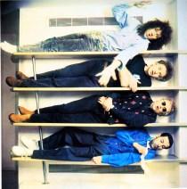 Headlong photo session 1990