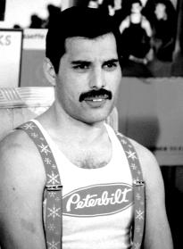 Freddie in 1985 - interview