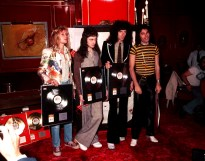 Queen with gold discs in 1976