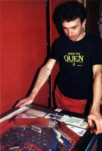 John in Musicland studio 1981