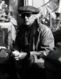 Roger on the set of the 'A Kind Of Magic' promotional video in March 1986 and filmed in the disused Playhouse Theatre in London