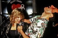 Freddie with Samantha Fox at the Queen party at Kensington Roof Gardens on 12th July 1986 (2)