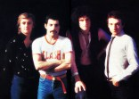 Queen on the set of the 'Play The Game' promotional video. Photo by Chris Hopper
