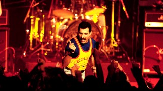 Freddie at Festival in Montreux 1986