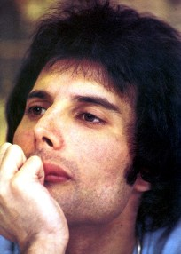 Freddie at press conference in New Orleans 1978