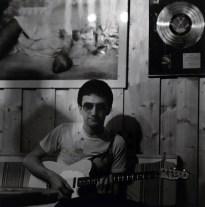 John Deacon at Mountain Studios