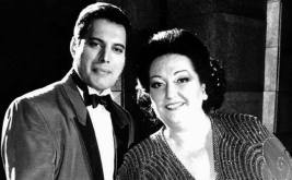 'Barcelona' by Freddie Mercury and Montserrat Caballe. The promo video was directed by David Mallet and filmed at Pinewood Studios on 8th October 1987