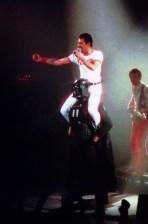 Freddie at Darth Vader - The Game Tour