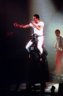 Freddie at Darth Vader - The Game Tour