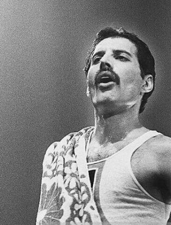 Freddie Mercury - Hot Space Tour
