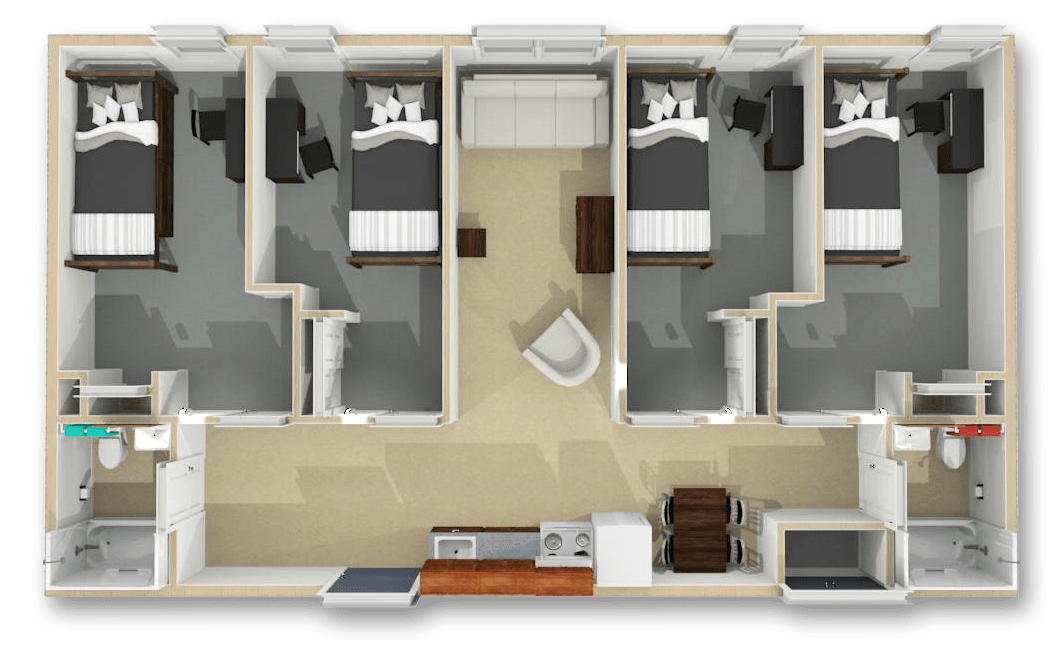 Floor Plans & Pricing - Summit Apartments at Queens College on bayside queens ny map, queens west map, queens ny neighborhood street map, queens new york city neighborhood map, college point new york map, college point queens map,