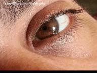 Man's One Eye Open