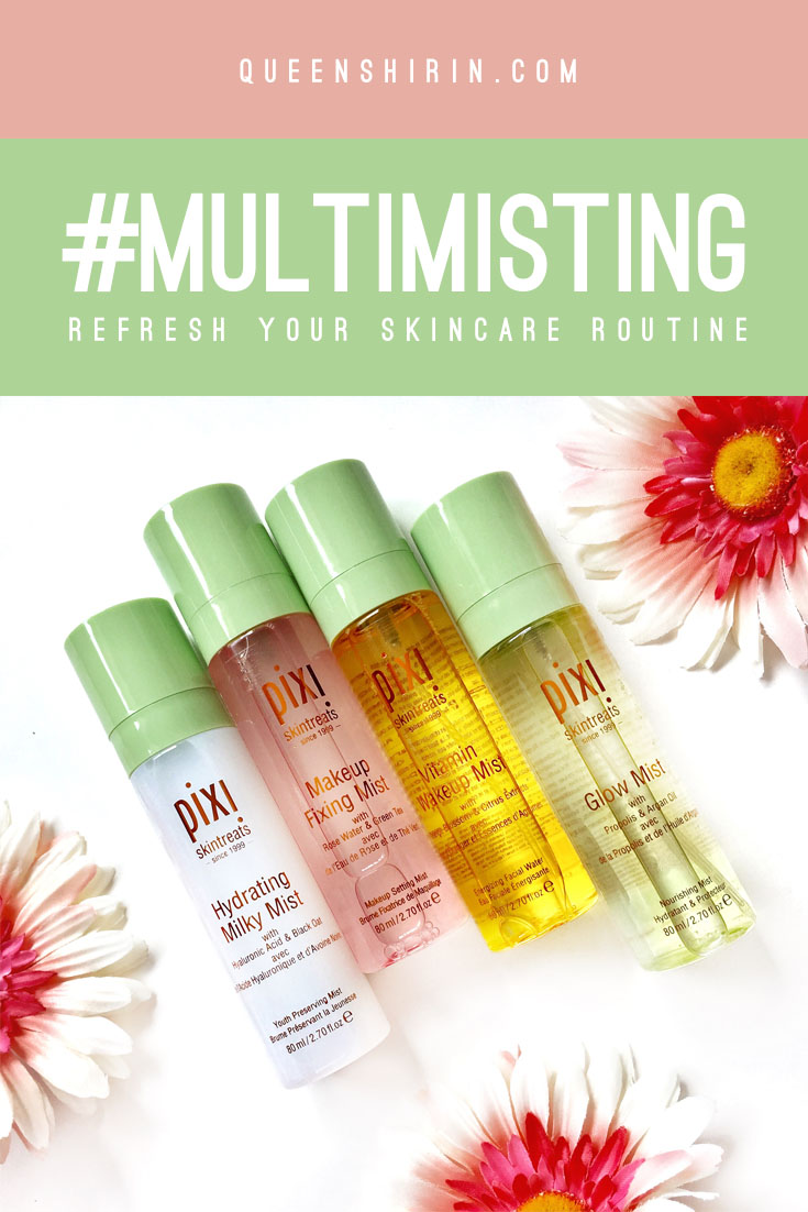 #MultiMisting – Pixi Beauty Face Mist Review
