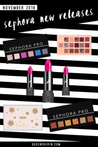 November 2018: New Sephora Beauty Product Releases