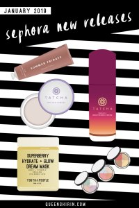 Read more about the article Sephora New Releases: January 2019