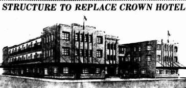 Hegvold Crown Hotel design, Rockhampton, The Morning Bulletin, 25 March 1947, p.5
