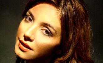 La actriz Berenice Di Piazza.