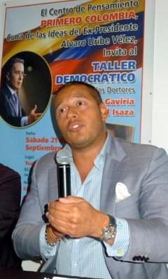 Kalei Isaza Tuzman quiso ser congresista en Colombia en representación de los colobianos en el exterior.