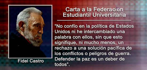 Fidel Castro opina