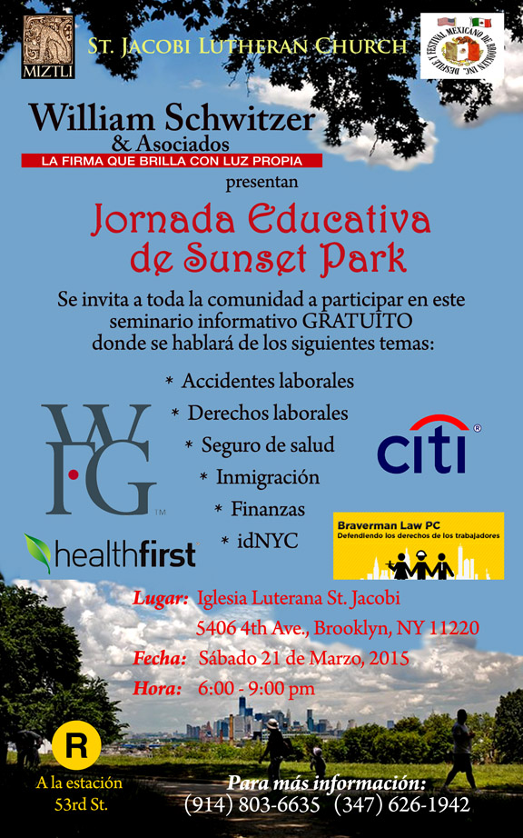 Jornada Educativa Inmigrantes