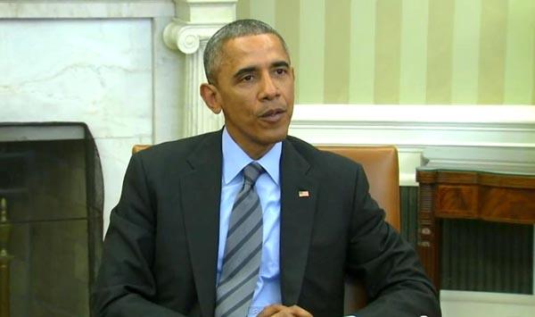 El presidente Obama criticó a los senadores que enviaron carta a Irán.