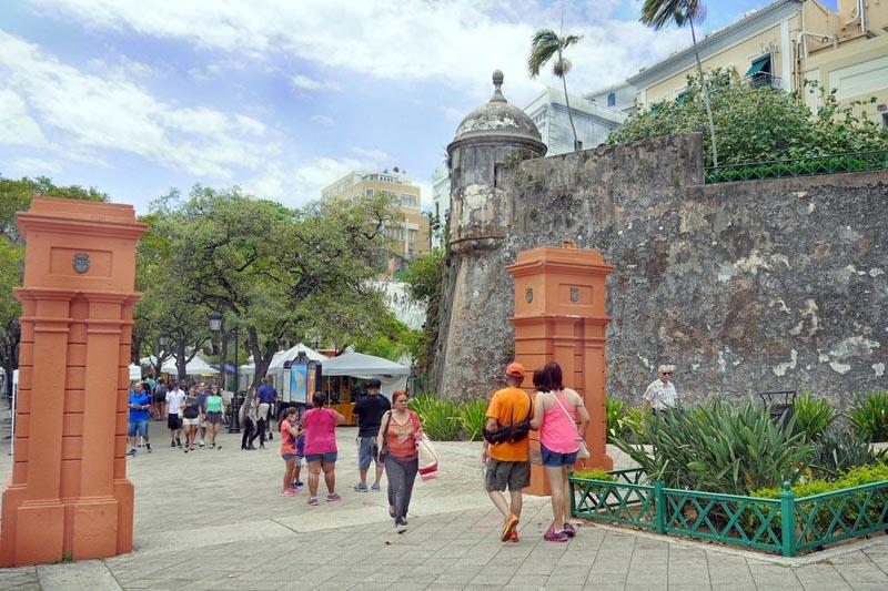 En el Viejo San Juan está la historia de Puerto Rico.