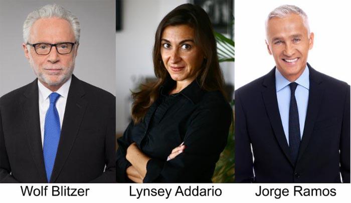 Estos periodistas asistirán a la gala del International Center for Journalists (ICFJ) el próximo noviembre en Washington DC.