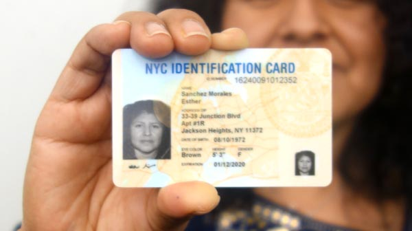 nyc identification card