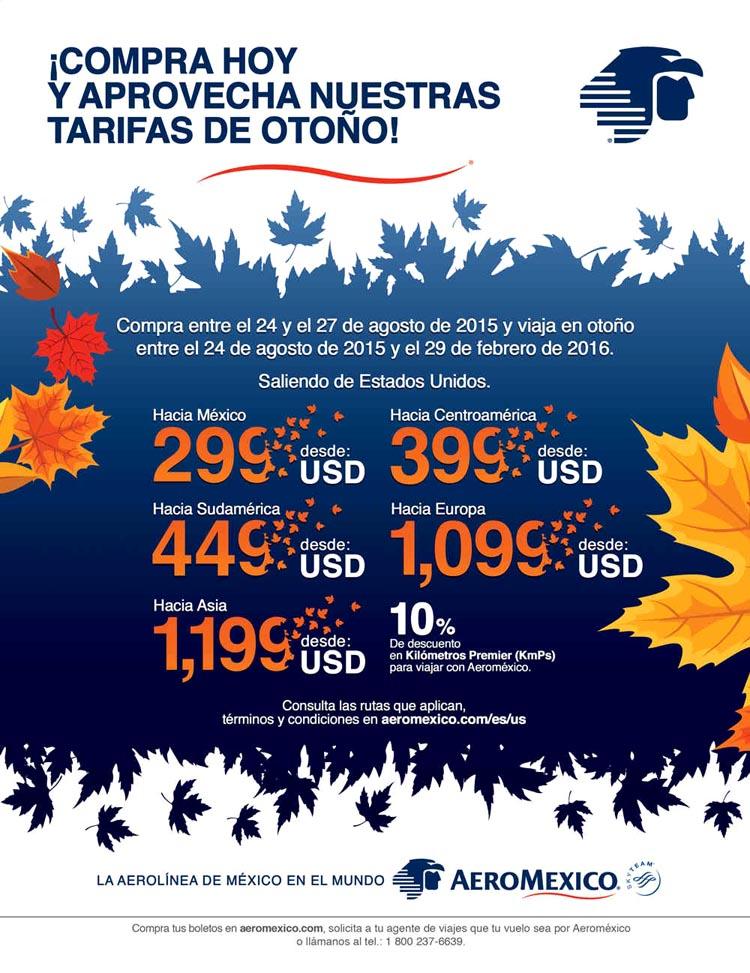 Aeromexico especiales 2015