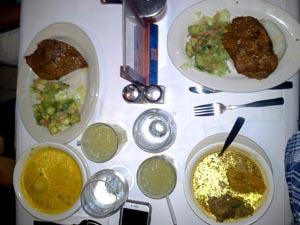 El especial del día en el Restaurante Barzola.
