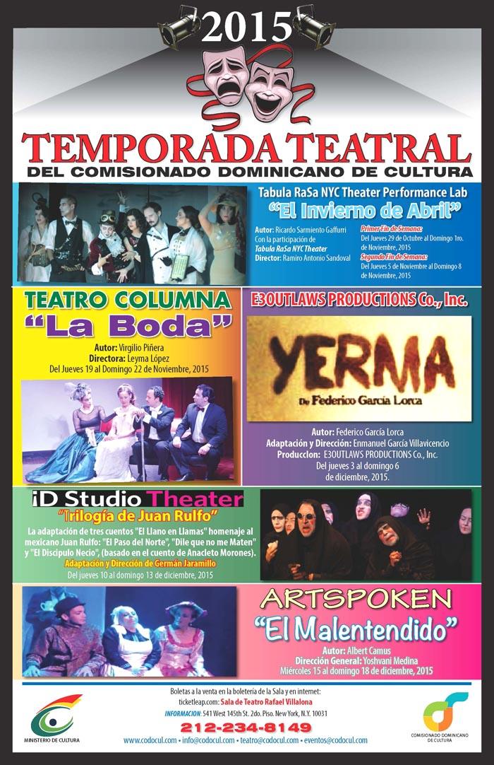 Teatro dominicano NY