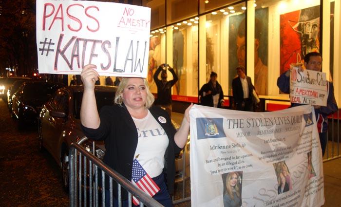 Diane Atkins atacó a los indocumentados y defendió a Donald Trump y NBC.