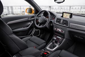 El interior de Audi 2016 Q3.