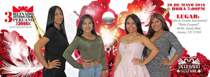 Desfile peruano reinas