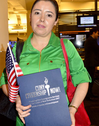 Sofía Carreño de Citizenship Now!