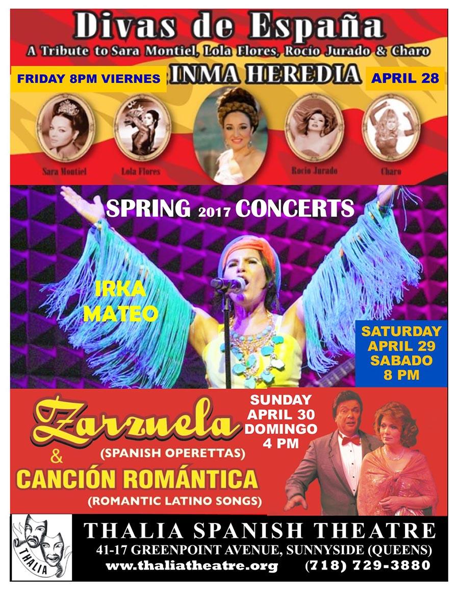 Divas de Espana en Thalia Theatre