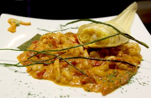 web Humitas salsa camarones