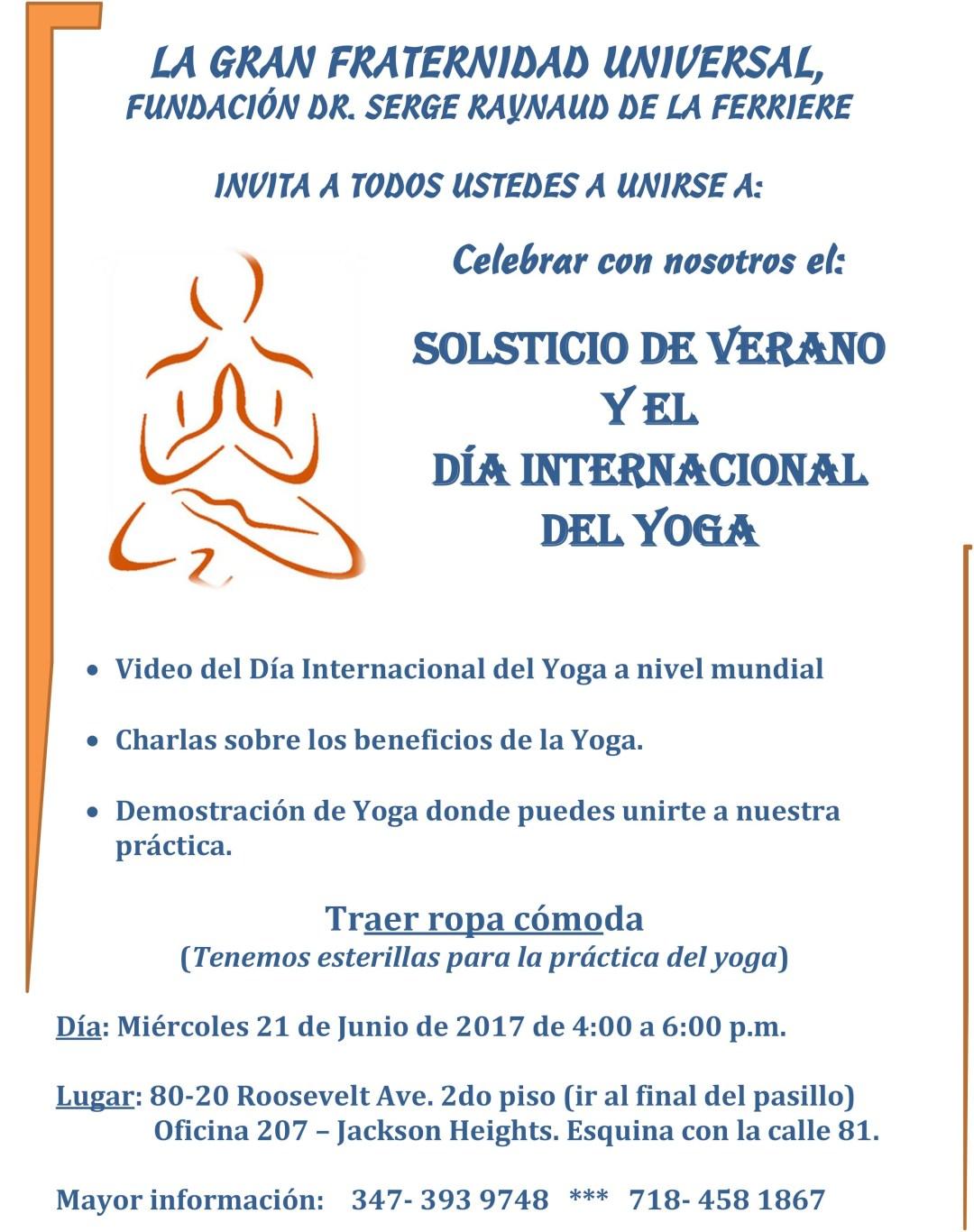 Yoga junio 21