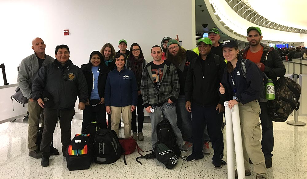 NYC Health Department team going to Puerto Rico. Photo courtesy