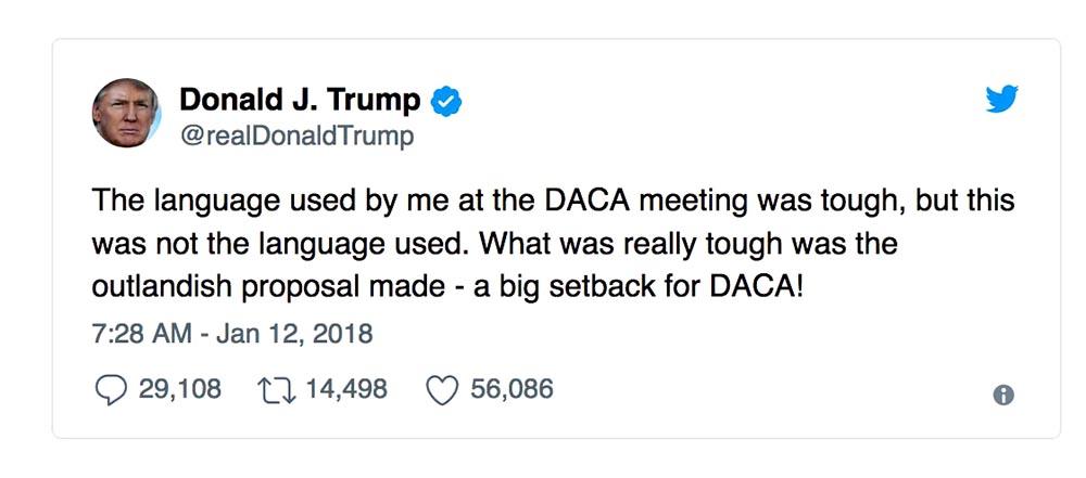 Trump mierda Twitter