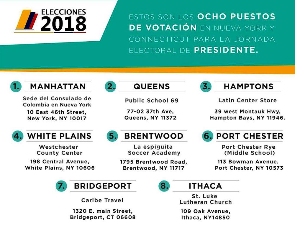 puestos de votacion mayo