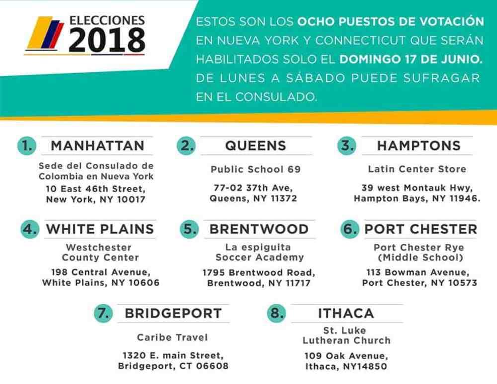 Colombianos NY voto 2
