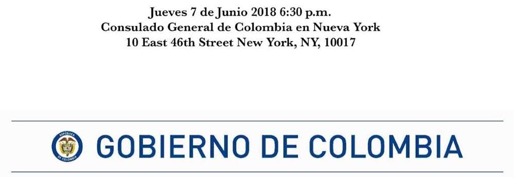 Consulado de Colombia en NY