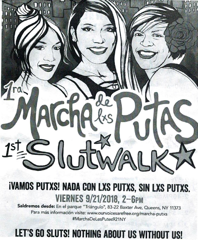 Marcha de la Putas Queens