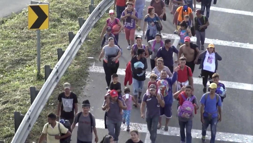 Son más de 7,000 inmigrantes centroamericanos con el objetivo de ingresar a Estados Unidos en busca de un mejor futuro.